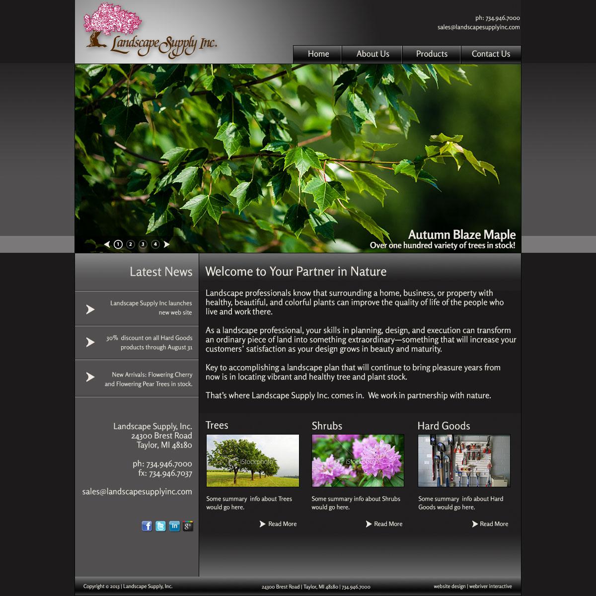 - Landscape Supply, Inc. - WebRiver