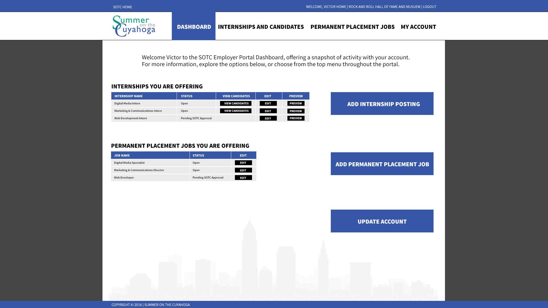 Affordable Website Design Cleveland Ohio Webriver