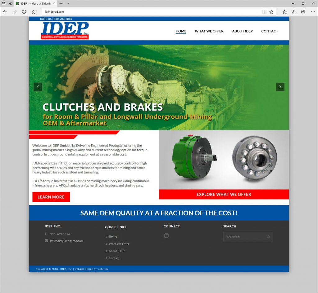 website design company in akron  cleveland medina ohio WebRiver Website Design Company Akron Medina Cleveland
