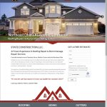 Custom, Responsive Website Design for State Construction Roofing