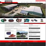 Custom Responsive Website Design, Photography, Video, and SEO for Unisand