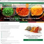 Responsive Custom Website Design and SEO for Yost Foods