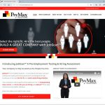 Custom, Responsive Web Design & .NET, SQL Server Application Development for PsyMax Solutions JobScan