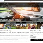 Responsive, Custom Website Design for Jenkins Insurance Agency near Akron, Ohio
