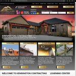 Kensington Contracting Launches New Website