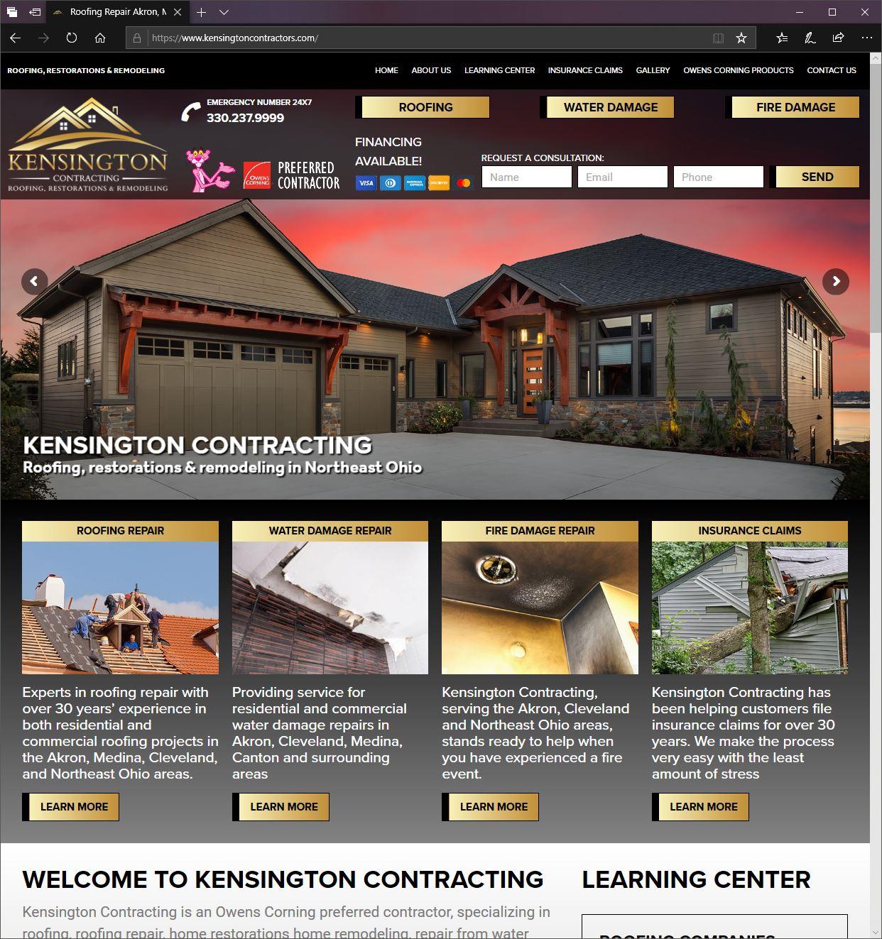 website design akron, medina